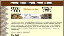 A World for Butterflies book site